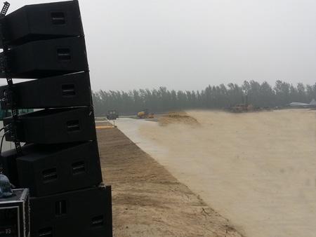 贝塔斯瑞音响助阵解放军某军区大型空演